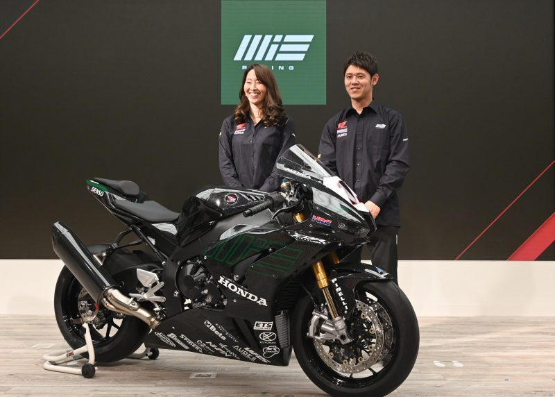 The MIE Racing Althea Honda Team announces its 2020 WorldSBK line-up at the Team presentation in Tokyo