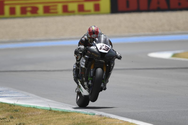 MIE Racing Althea Honda battle the heat in race at Jerez