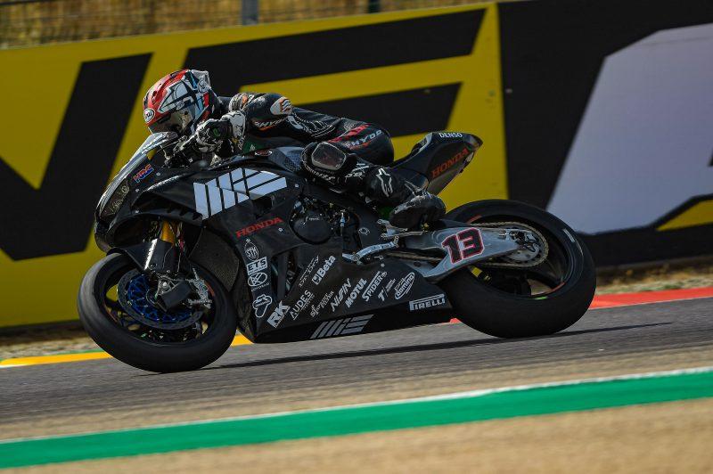 Action resumes at Motorland Aragón for MIE Racing Althea Honda Team