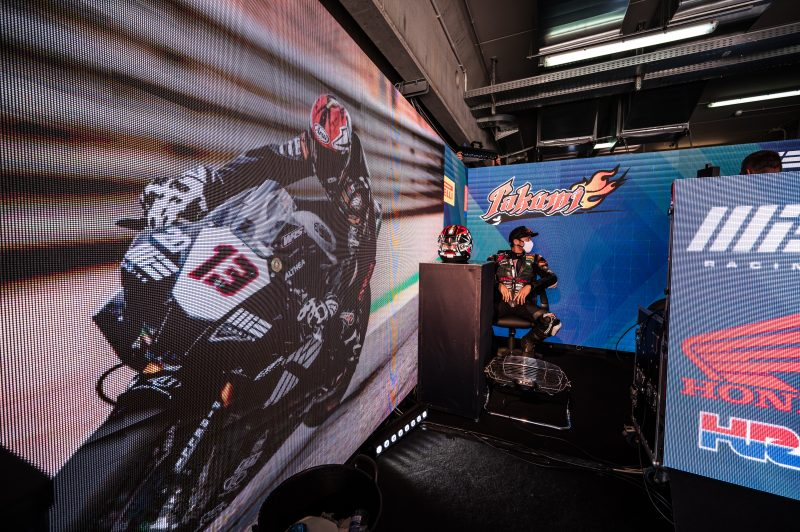 A promising weekend for the MIE Racing Honda Team