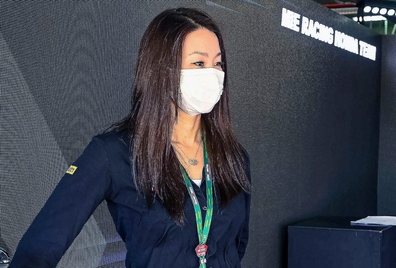 MIE Racing Honda Team owner Midori Moriwaki takes us inside the Team's pit garage with its amazing LED panels