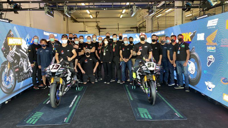The 2020 Superbike World Championship draws to a close for the MIE Racing Honda team Estoril