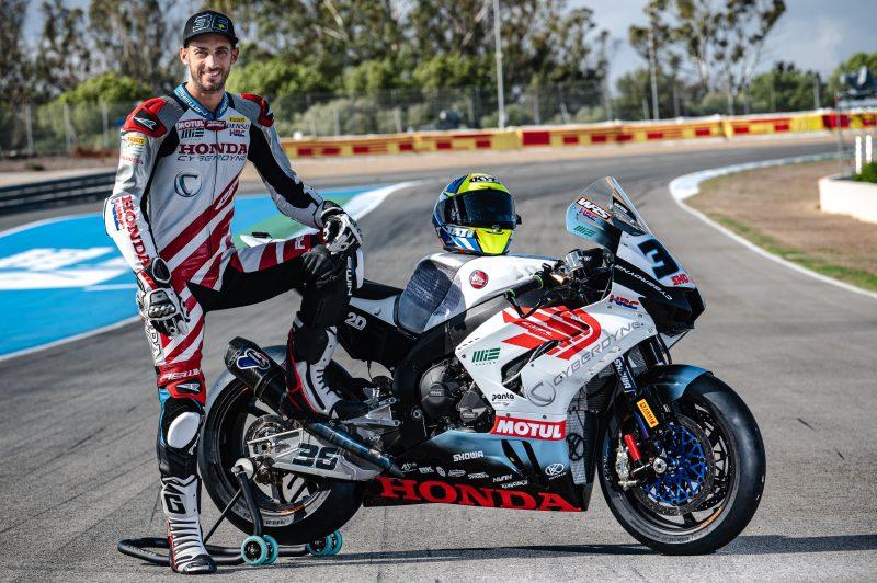 Mercado and the MIE Racing Honda Team continue to get closer