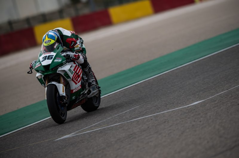 MIE Racing Honda Team struggle to make headway at Aragón