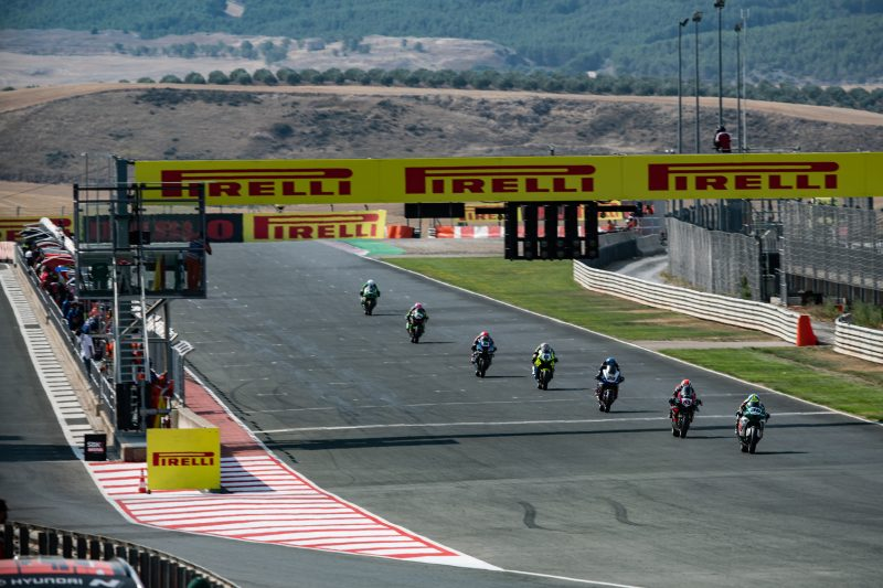 An action-packed race for Mercado at Navarra